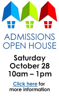 Come to the Admissions Open House