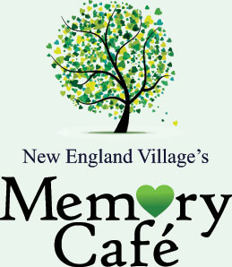 Memory Cafe logo and link